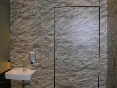 Exemple de utilizare Placi HPL pentru grupuri sanitare FUNDERMAX - Poza 9