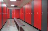 Placi HPL pentru compartimentari cabine sanitare, vestiare FUNDERMAX