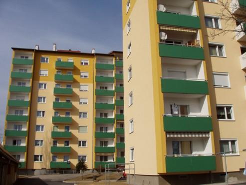 Lucrari, proiecte Placi HPL pentru placare parapeti balcoane FUNDERMAX - Poza 9