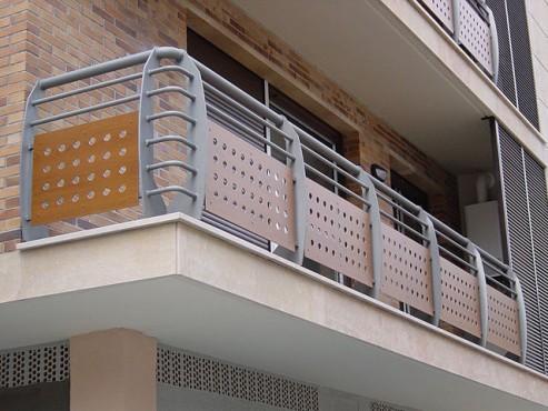 Lucrari, proiecte Placi HPL pentru placare parapeti balcoane FUNDERMAX - Poza 5