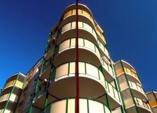Lucrari, proiecte Placi HPL pentru placare parapeti balcoane FUNDERMAX - Poza 4