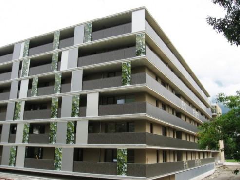 Lucrari, proiecte Placi HPL pentru placare parapeti balcoane FUNDERMAX - Poza 3
