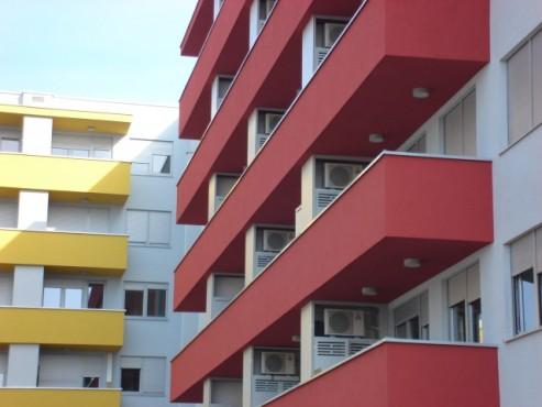 Lucrari, proiecte Placi HPL pentru placare parapeti balcoane FUNDERMAX - Poza 10