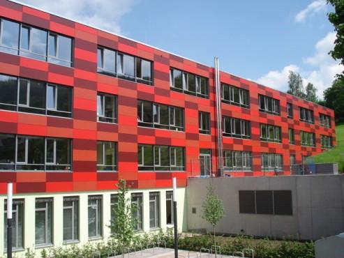 Lucrari, proiecte Placi HPL pentru placare fatade ventilate FUNDERMAX - Poza 2