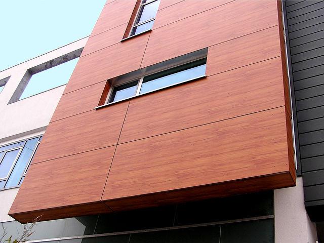 Lucrari proiecte placi hpl pentru placare fatade for Panneaux de bois exterieur