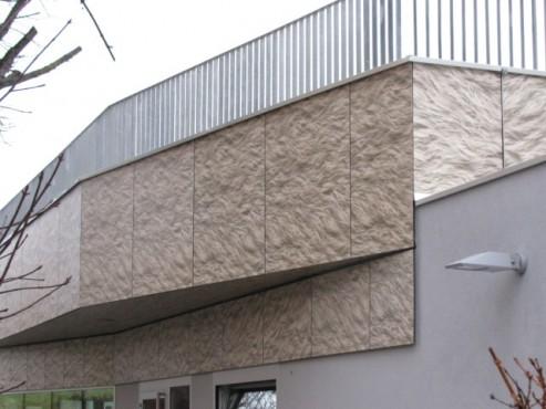 Lucrari, proiecte Placi HPL pentru placare fatade ventilate FUNDERMAX - Poza 9
