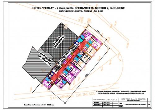 Lucrari, proiecte Hotel Perla Bucuresti  - Poza 1