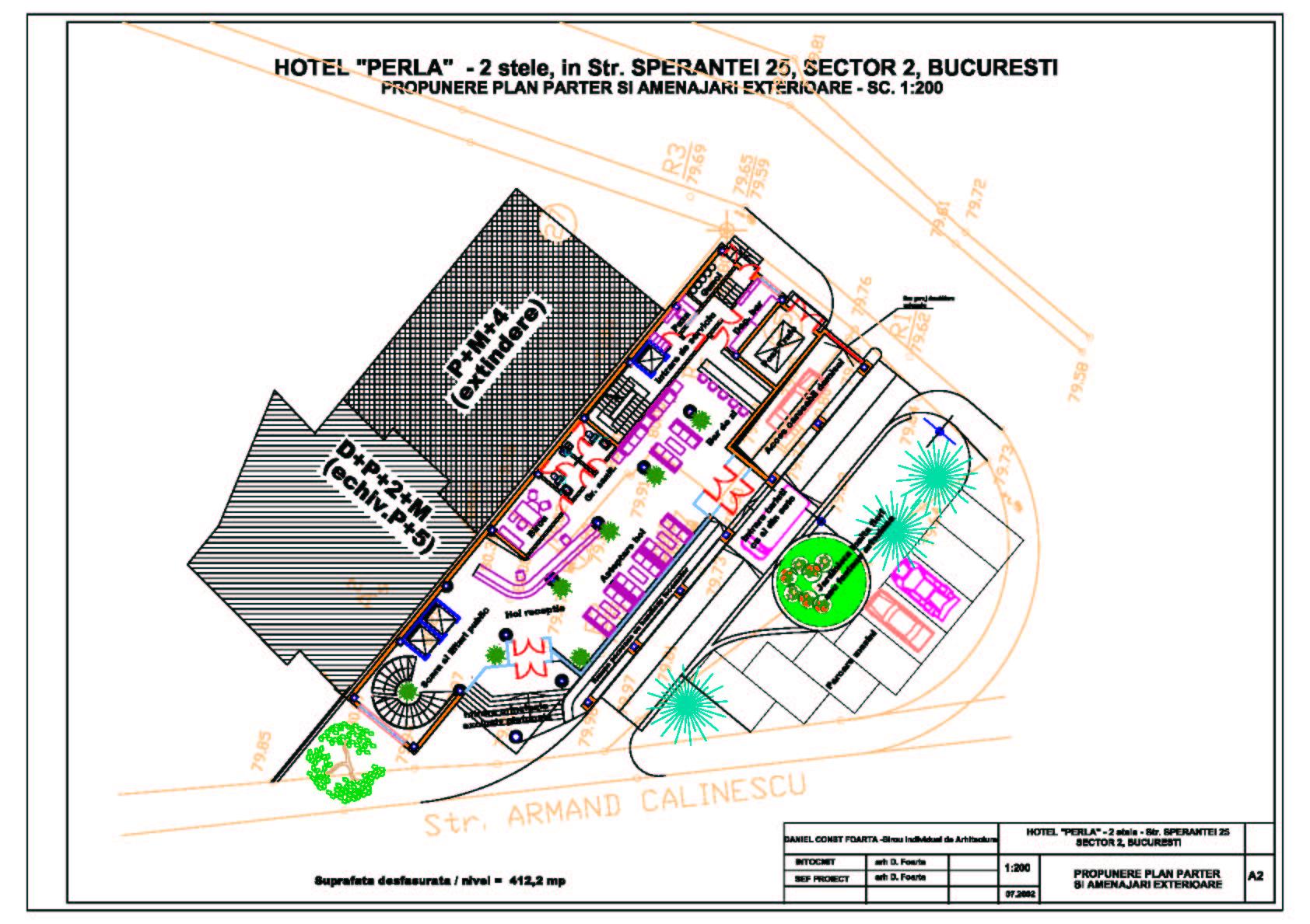 Hotel Perla Bucuresti  - Poza 3