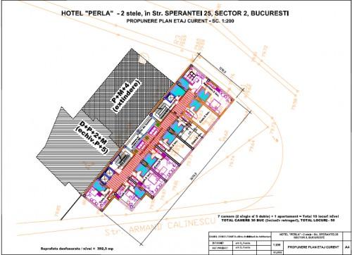 Lucrari, proiecte Hotel Perla Bucuresti  - Poza 4