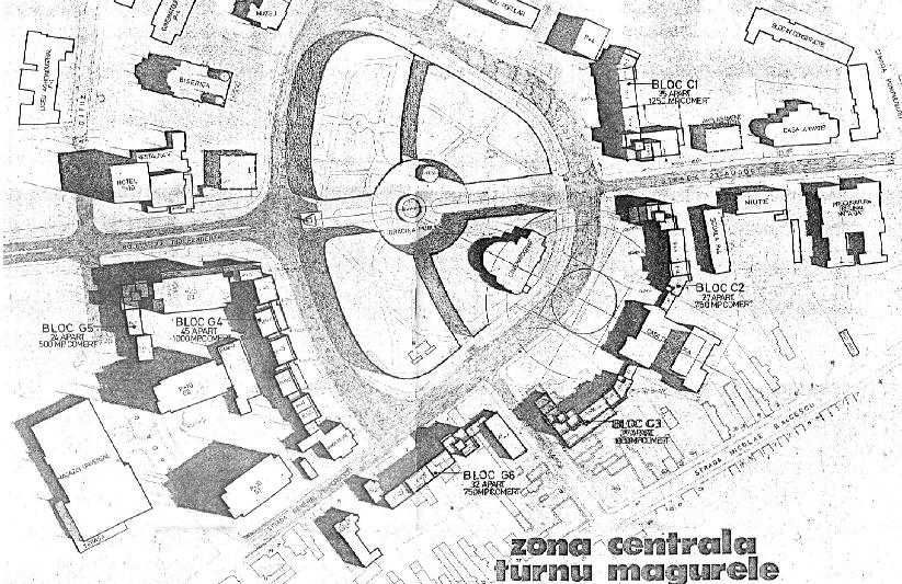 Locuinte piata centrala Turnu Magurele  - Poza 1