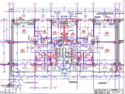 Lucrari, proiecte Locuinte piata centrala Turnu Magurele  - Poza 5
