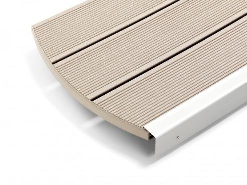 Prezentare produs Decking compozit tip WPC - Ambra REHAU - Poza 11