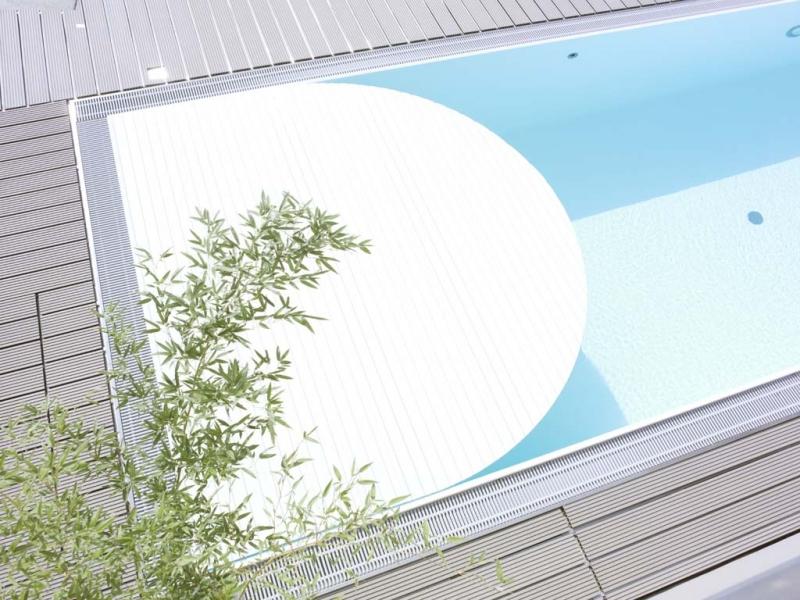 Decking compozit tip WPC - Pavarea suprafetelor din jurul piscinei REHAU - Poza 42