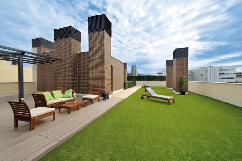 Prezentare produs Terase - Decking compozit tip WPC pentru pavaje terase, pardoseli piscine REHAU - Poza 45