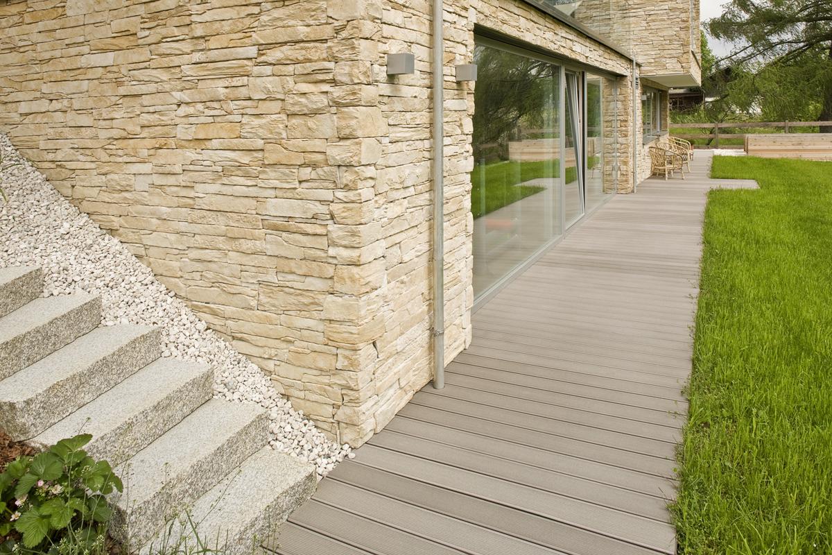 Terase - Decking compozit tip WPC pentru pavaje terase, pardoseli piscine REHAU - Poza 51