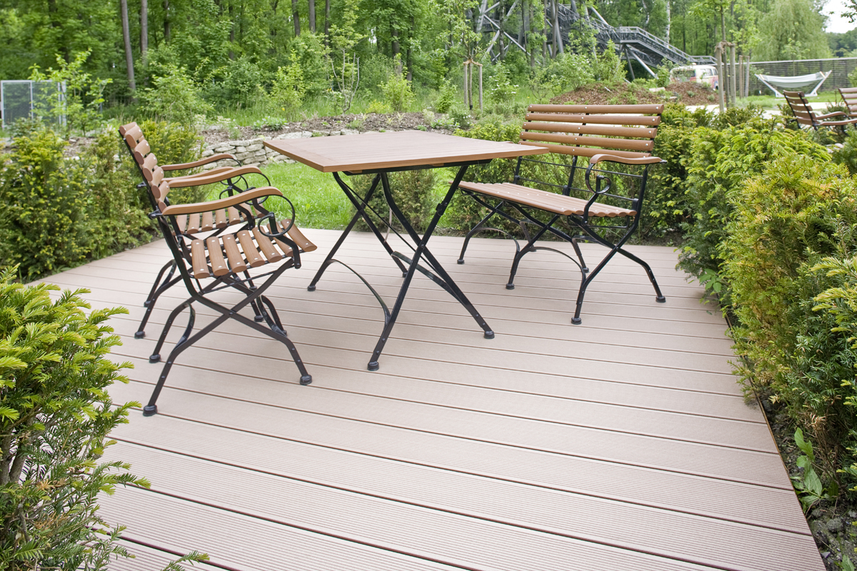 Terase - Decking compozit tip WPC pentru pavaje terase, pardoseli piscine REHAU - Poza 55
