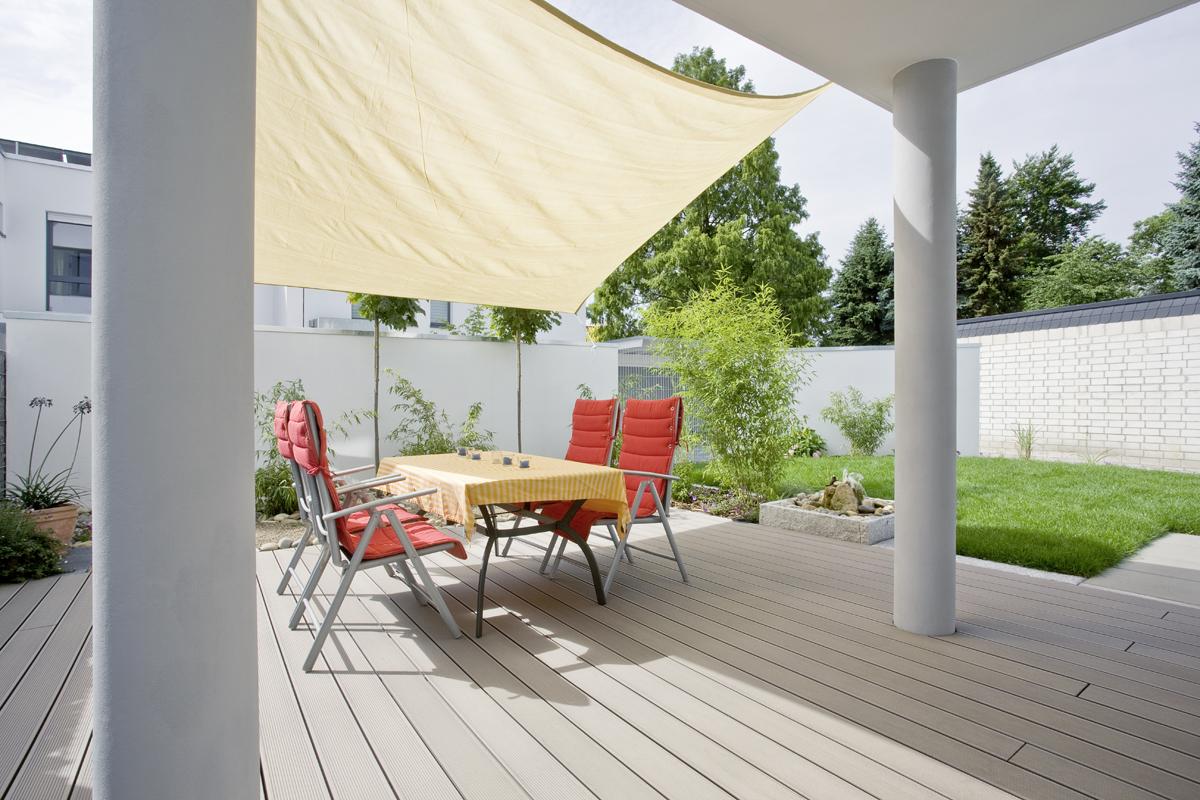 Terase - Decking compozit tip WPC pentru pavaje terase, pardoseli piscine REHAU - Poza 57