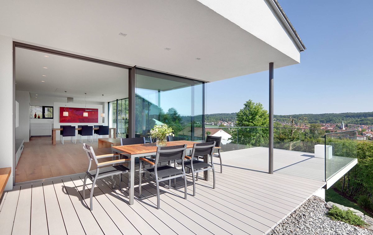 Terase - Decking compozit tip WPC pentru pavaje terase, pardoseli piscine REHAU - Poza 60