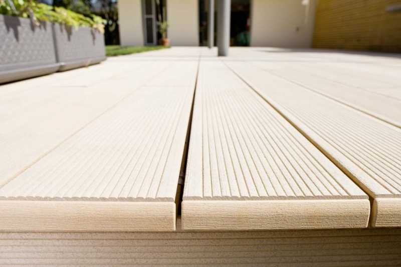Terase - Decking compozit tip WPC pentru pavaje terase, pardoseli piscine REHAU - Poza 65