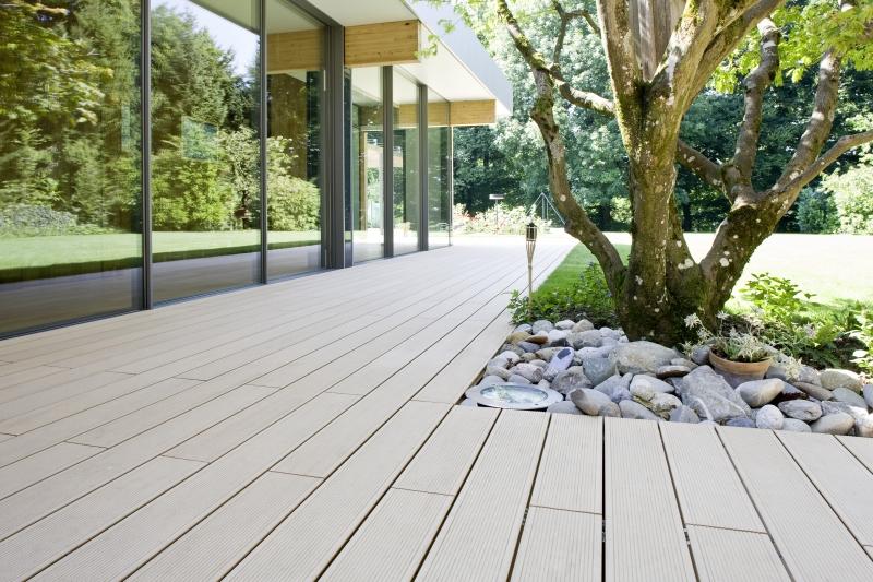 Terase - Decking compozit tip WPC pentru pavaje terase, pardoseli piscine REHAU - Poza 68