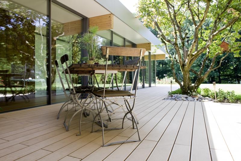 Terase - Decking compozit tip WPC pentru pavaje terase, pardoseli piscine REHAU - Poza 69