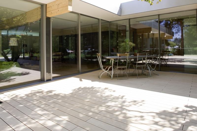 Terase - Decking compozit tip WPC pentru pavaje terase, pardoseli piscine REHAU - Poza 71
