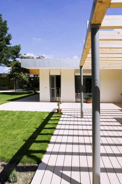 Terase - Decking compozit tip WPC pentru pavaje terase, pardoseli piscine REHAU - Poza 72
