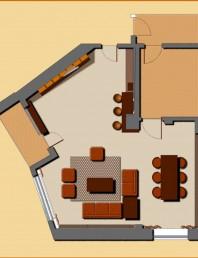 Plan apartament Tineretului si randari
