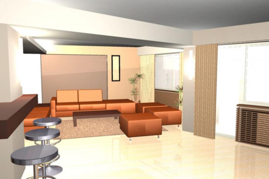 Pagina 3 - Plan apartament Tineretului si randari  Lucrari, proiecte Romana