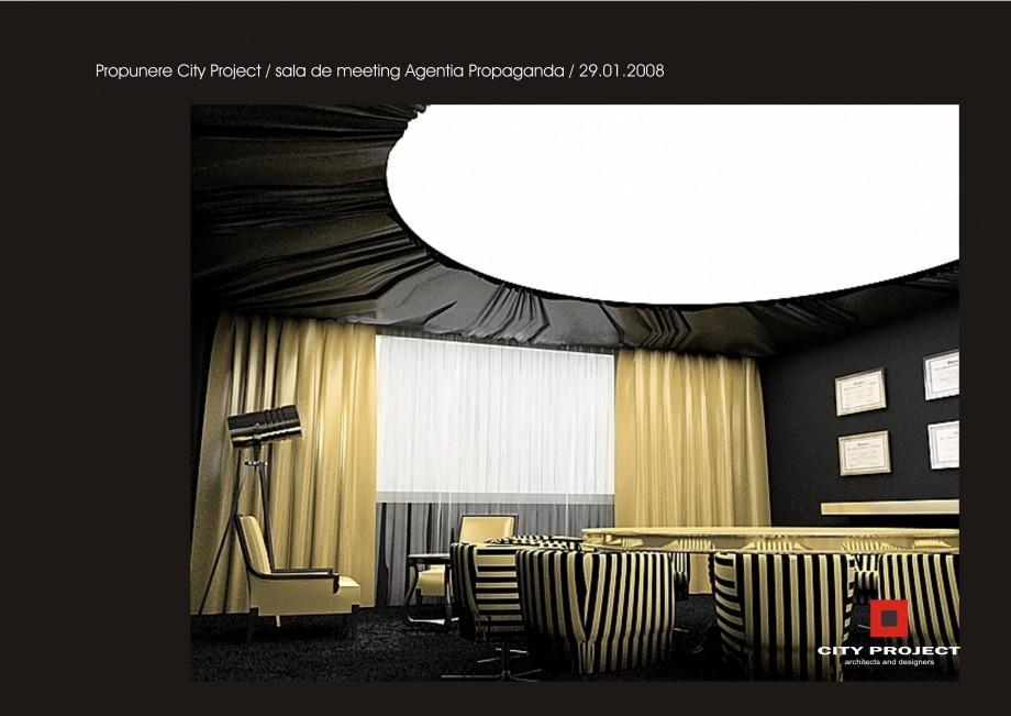 Pagina 3 - Amenajare sala meeting - Agentia Propaganda  Lucrari, proiecte Romana