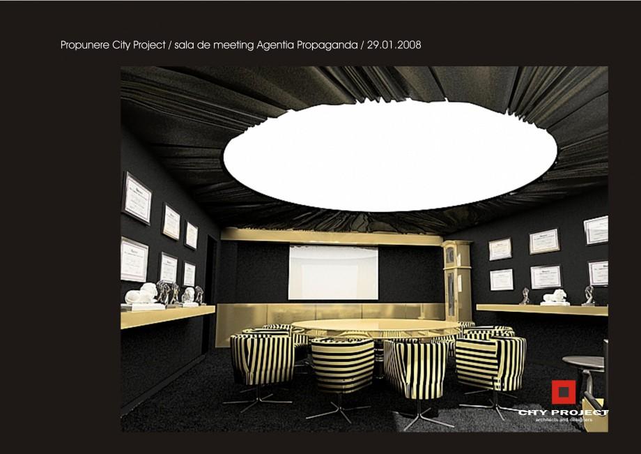 Pagina 4 - Amenajare sala meeting - Agentia Propaganda  Lucrari, proiecte Romana