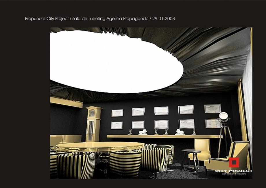 Pagina 5 - Amenajare sala meeting - Agentia Propaganda  Lucrari, proiecte Romana