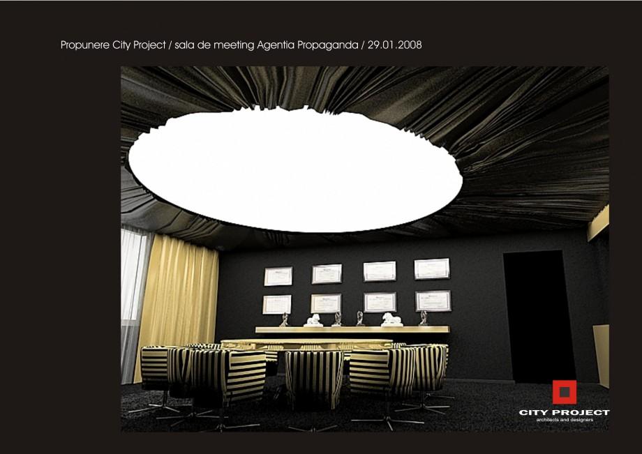 Pagina 6 - Amenajare sala meeting - Agentia Propaganda  Lucrari, proiecte Romana