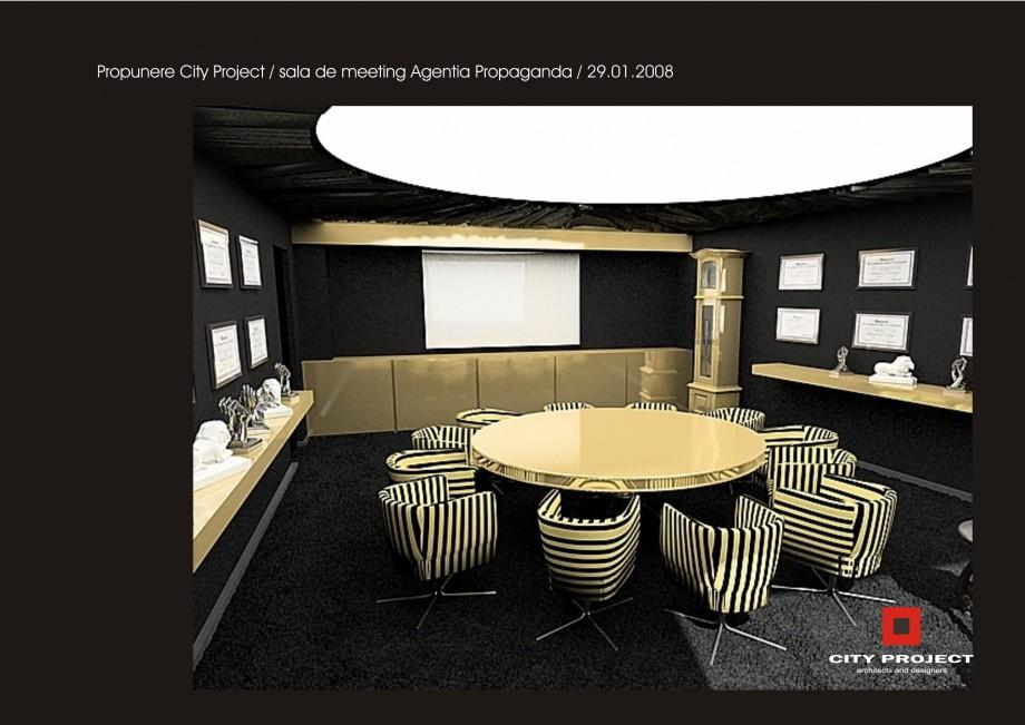 Pagina 7 - Amenajare sala meeting - Agentia Propaganda  Lucrari, proiecte Romana