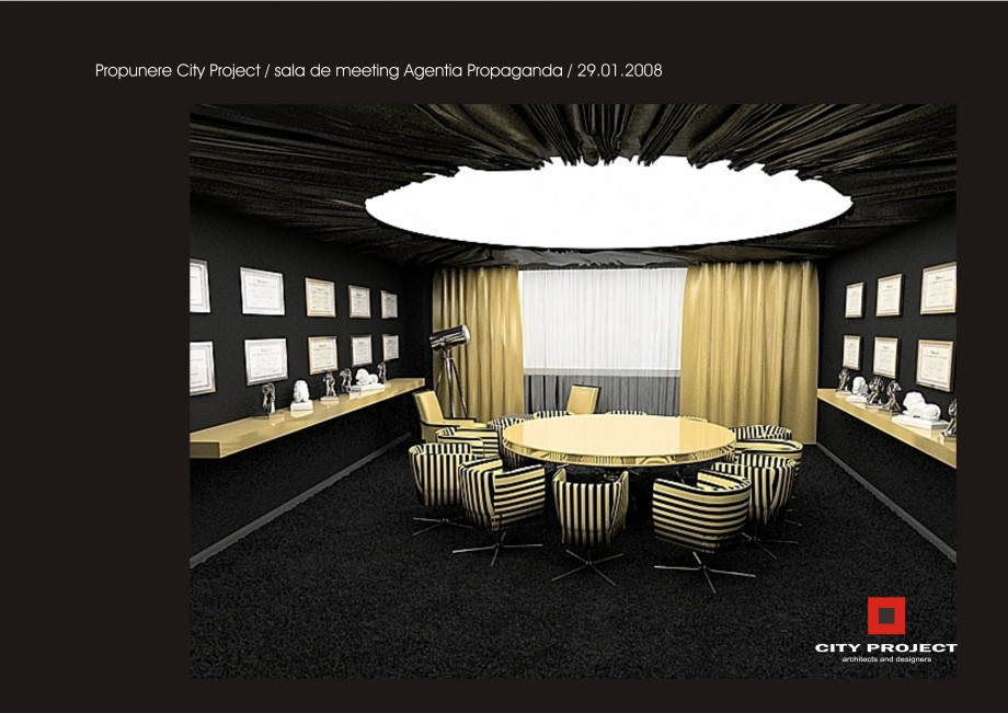 Pagina 8 - Amenajare sala meeting - Agentia Propaganda  Lucrari, proiecte Romana