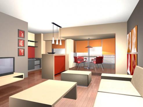 Lucrari, proiecte Amenajare apartament Decebal  - Poza 21