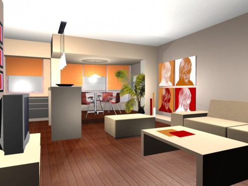 Lucrari, proiecte Amenajare apartament Decebal  - Poza 3