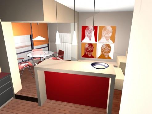 Lucrari, proiecte Amenajare apartament Decebal  - Poza 6