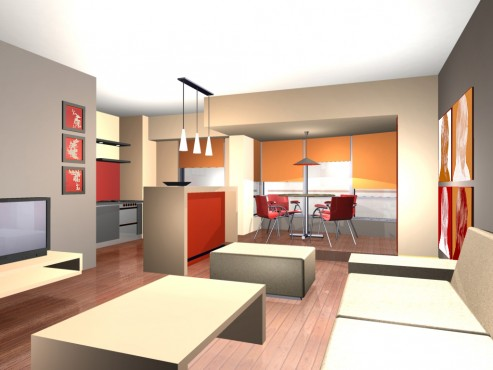 Lucrari, proiecte Amenajare apartament Decebal  - Poza 10
