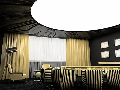 Lucrari, proiecte Amenajare sala meeting - Agentia Propaganda  - Poza 1