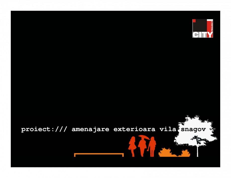 Pagina 1 - Amenajare vila Snagov  Lucrari, proiecte Romana proiect:/// amenajare exterioara vila...