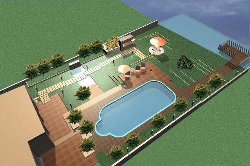 Lucrari, proiecte Amenajare vila Snagov  - Poza 8