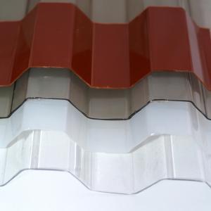 Placi policarbonat profilat MAKROPLAST - Poza 1