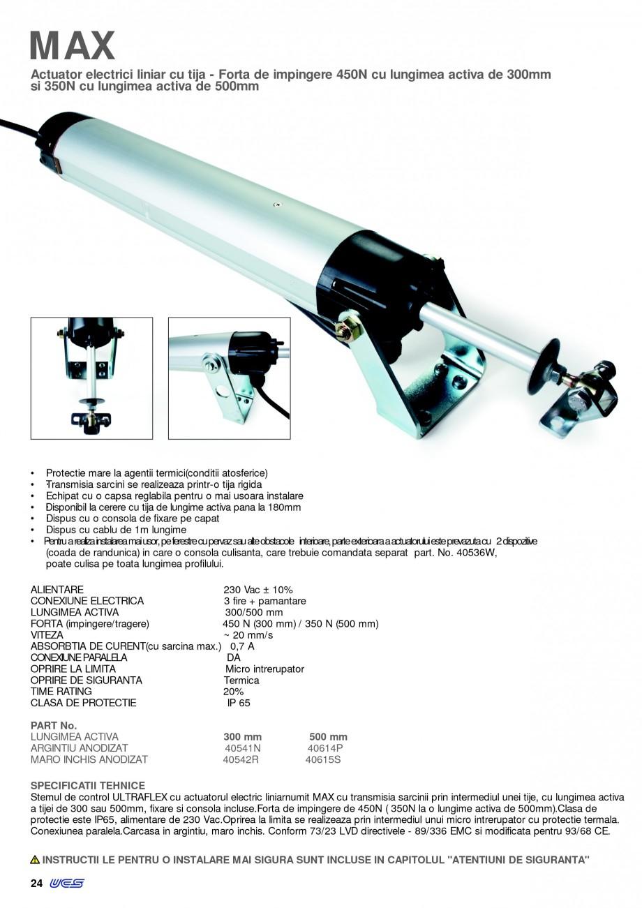 Pagina 24 - Sisteme pentru ventilatie si evacuare fum / caldura KADRA Catalog, brosura Romana E 500 ...