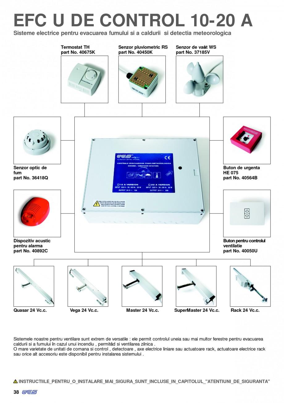 Pagina 37 - Sisteme pentru ventilatie si evacuare fum / caldura KADRA Catalog, brosura Romana emnal ...