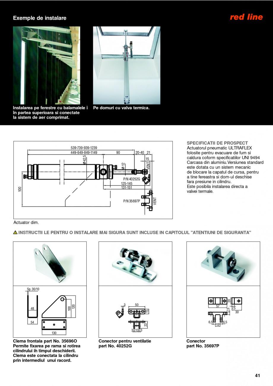 Pagina 40 - Sisteme pentru ventilatie si evacuare fum / caldura KADRA Catalog, brosura Romana �...