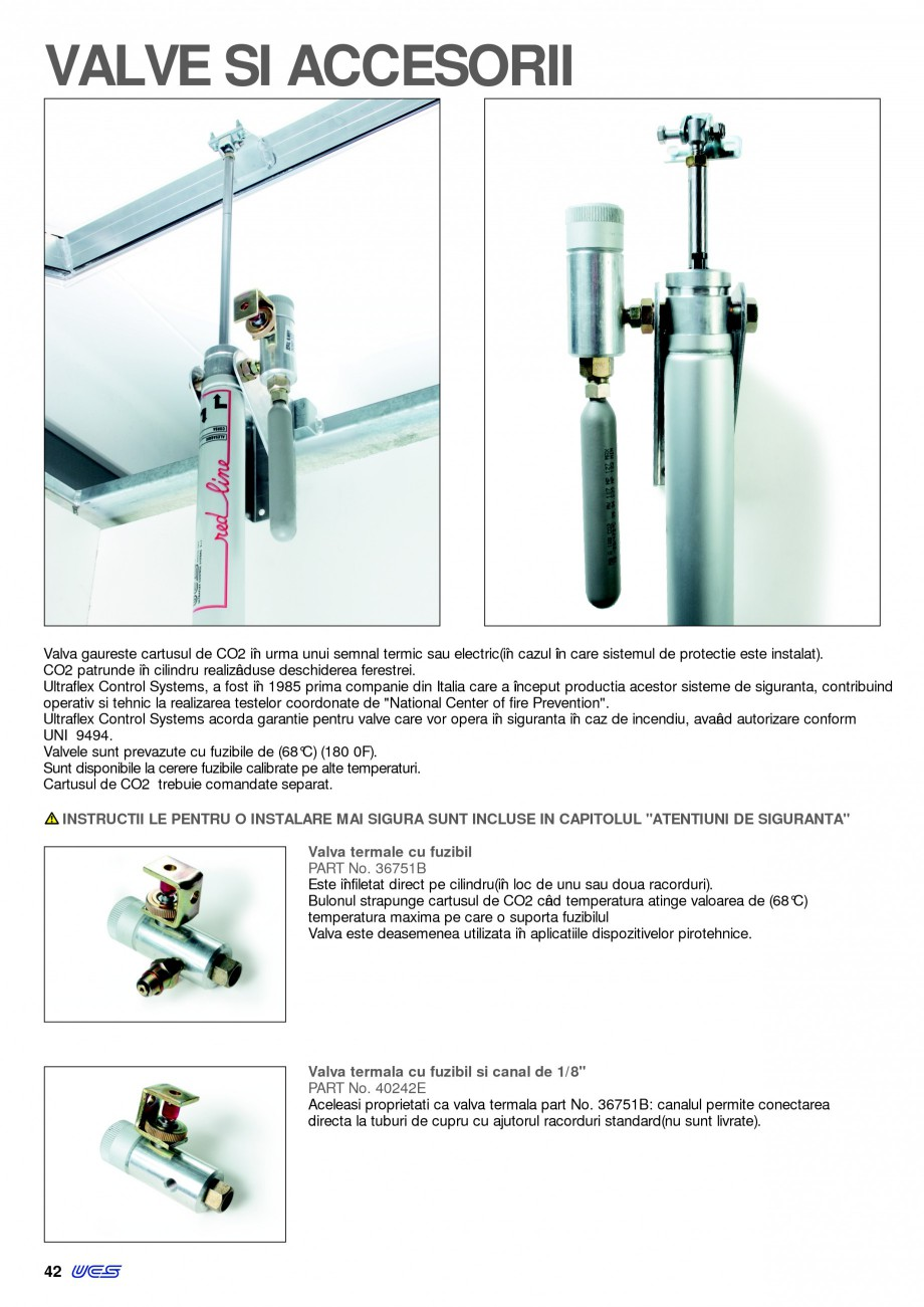 Pagina 41 - Sisteme pentru ventilatie si evacuare fum / caldura KADRA Catalog, brosura Romana u...