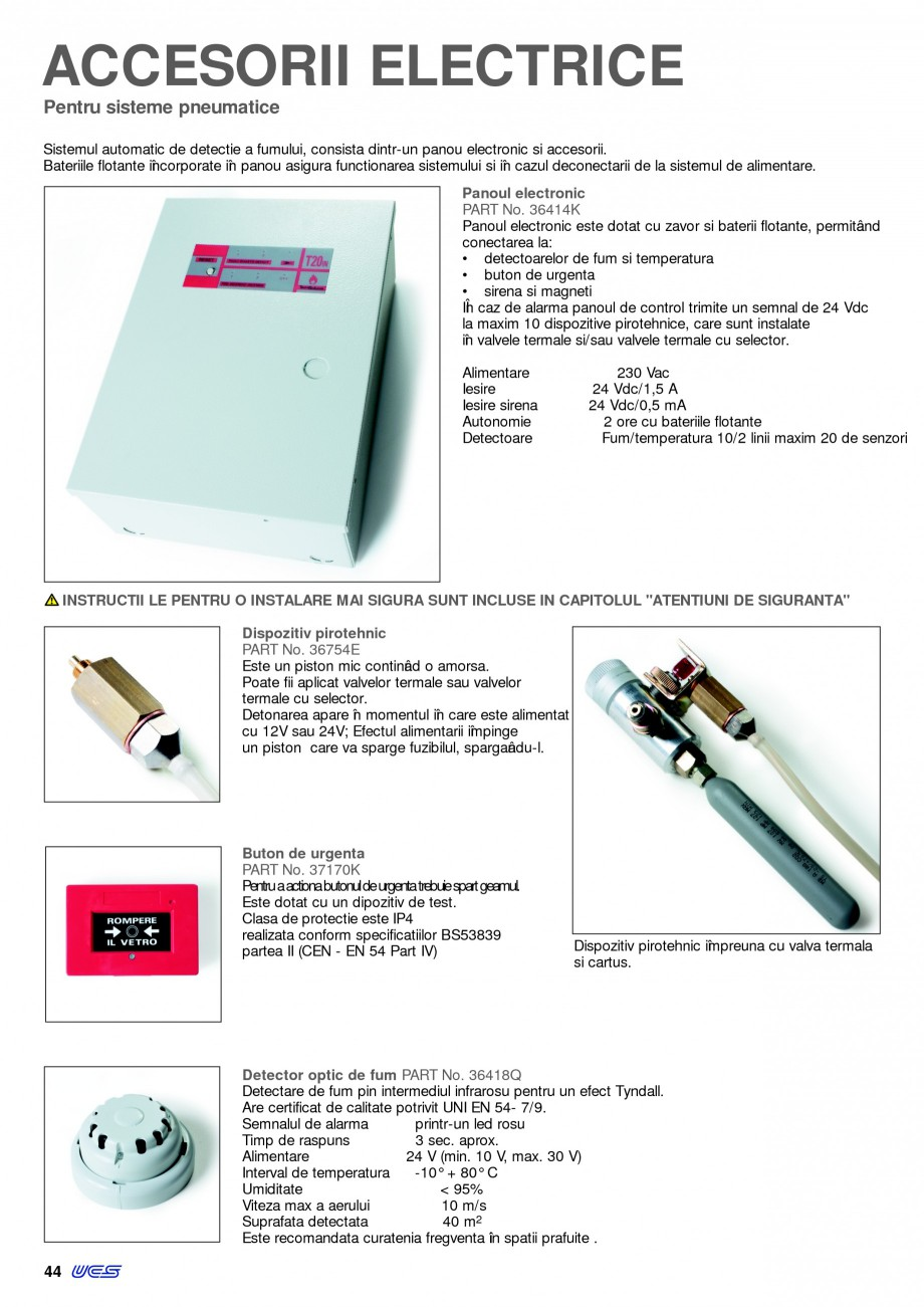 Pagina 43 - Sisteme pentru ventilatie si evacuare fum / caldura KADRA Catalog, brosura Romana ana si...
