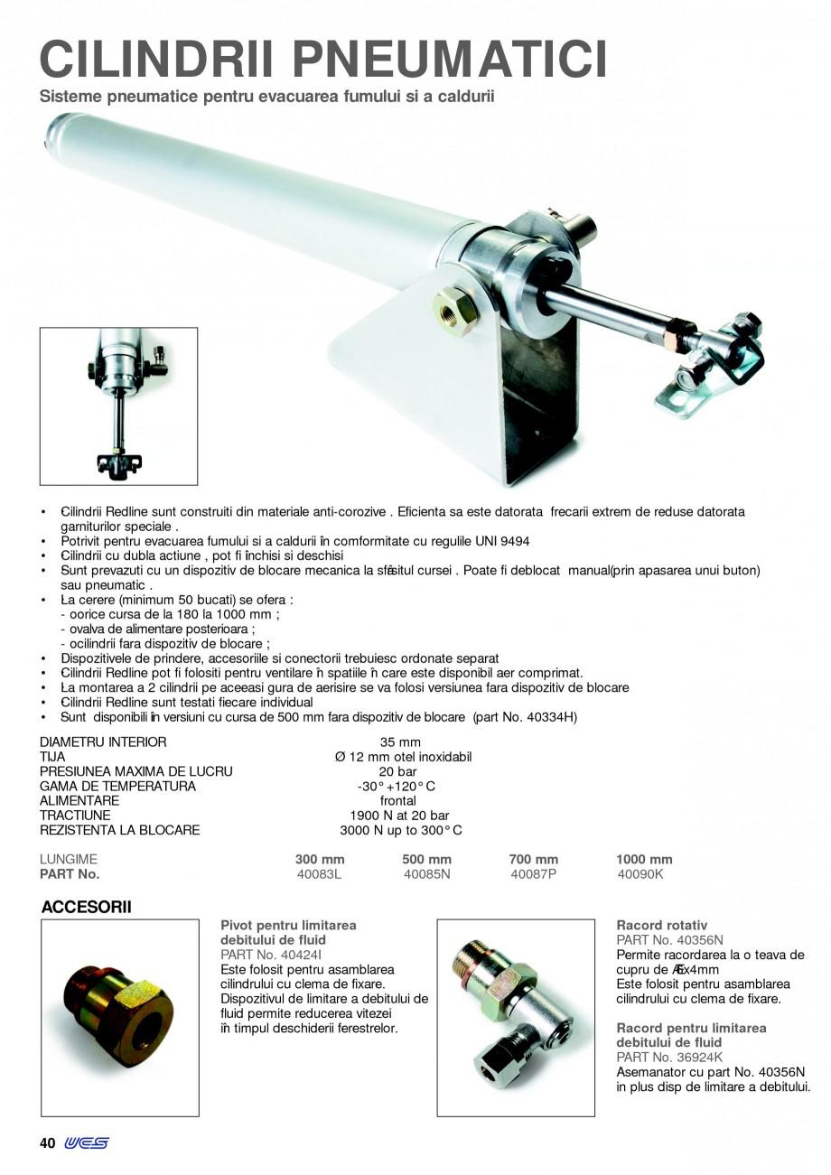 Pagina 1 -  Automatizari profesionale pentru ferestre KADRA Catalog, brosura Romana CILINDRII...