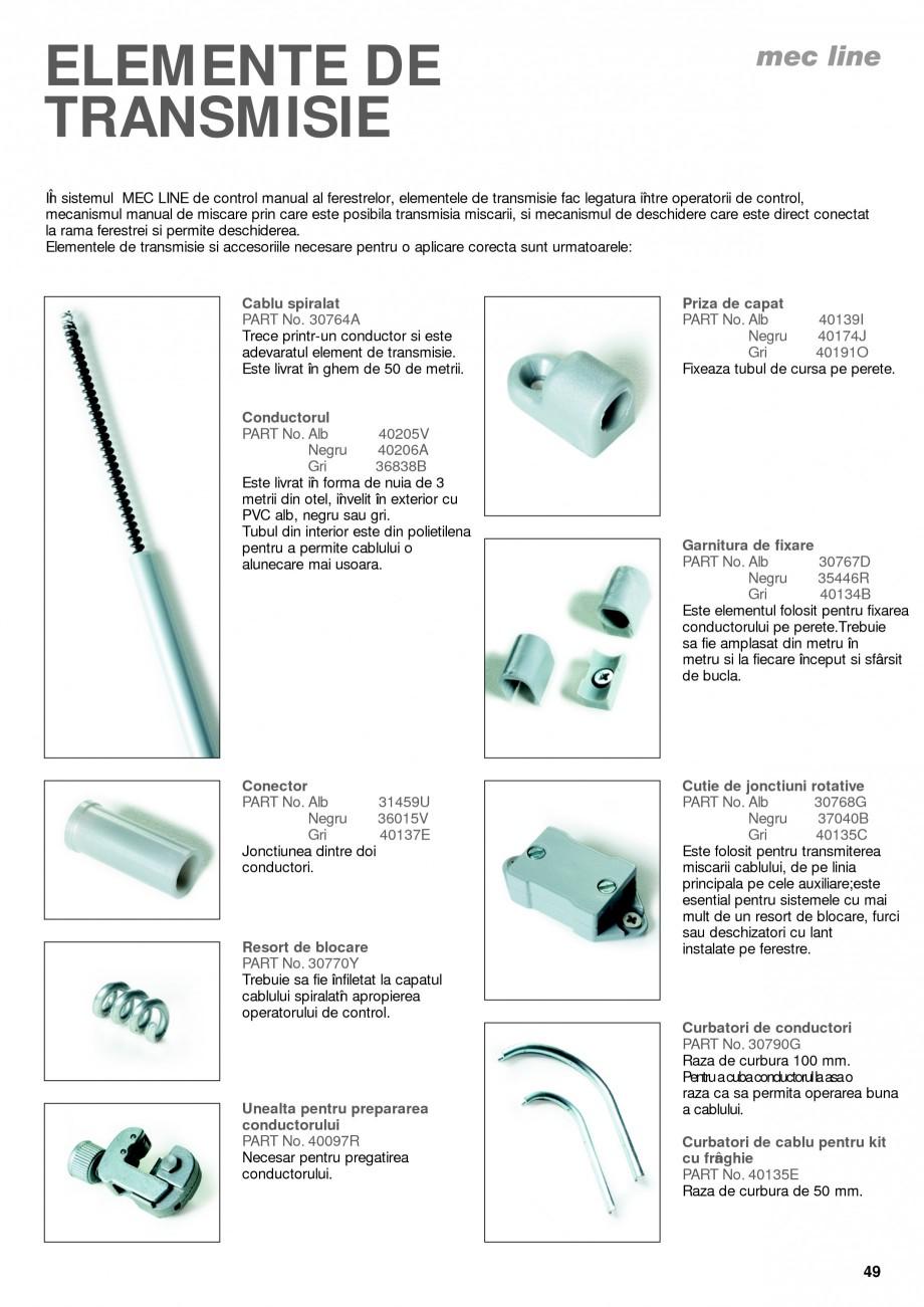 Pagina 4 - Operatori de control pentru actuatorii de ferestre KADRA Catalog, brosura Romana le...